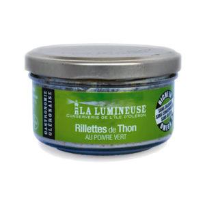 Rillettes de Thon au poivre vert